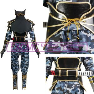 戦国BASARA2 猿飛佐助 第弐衣装 風 コスプレ衣装2